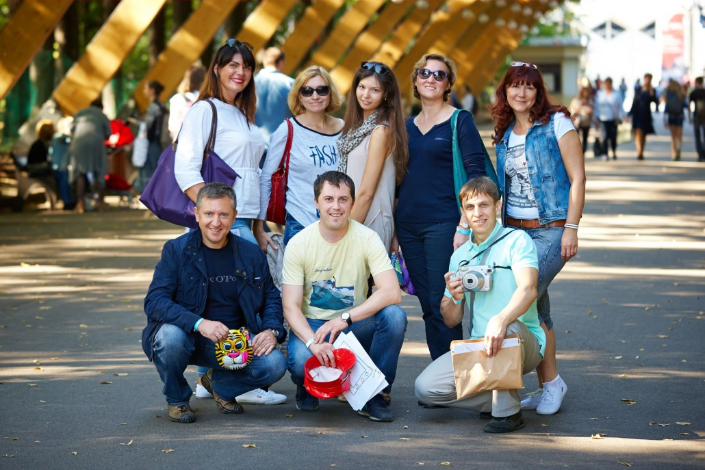 Фотоквест в Сокольниках